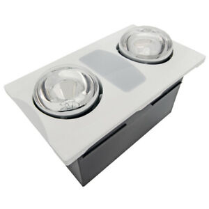 BATHROOM FAN WITH LIGHT AND HEATER (Aero Pure)