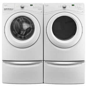 Whirlpool WFW75HEFW 5.2 cu.ft.Front Load Washer and Dryer