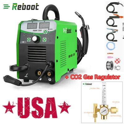 Mig Tig Welder 220v Gasgasless Flux Core Welding Machine Co2 Gas Regulator Us