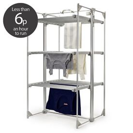Electric Dry:Soon Deluxe 3-Tier Heated Airer AND cover