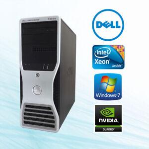 DELL T3500 Xeon 4Cores 18GB RAM, 2TB, Nvidia Quadro Monitor 20