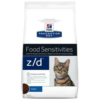 Hills Prescription Diet Feline Zd Dry Cat Food Sensitivity 2Kg Dietetic Kibble