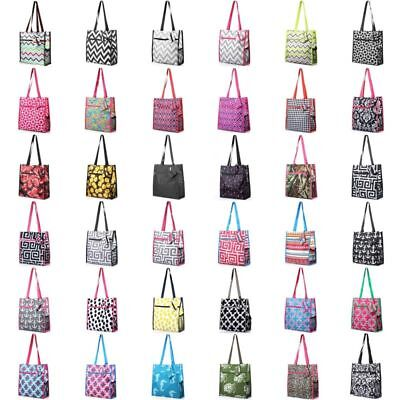 All Purpose Utility Bag - Lightweight All Purpose Travel Laundry Shopping Zipper Utility Shoulder Tote Bag
