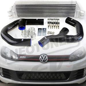 REV9 06-10 VW GTI FSI JETTA MK5 MK6 2.0T TURBO FRONT MOUNT INTERCOOLER KIT V1