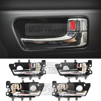 K3 OEM Genuine Inner Chrome Door handle Catch Set for KIA 2013-2018 Cerato