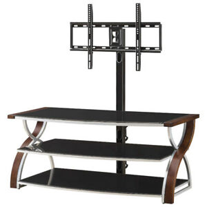 "Whalen 3-in-1 TV Stand for TVs Up To 60"" (BBCXL54-NV) - Nova New"