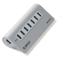 Orico M3H7 7 Port USB 3.0 Hub Premium Aluminium Apple Style High