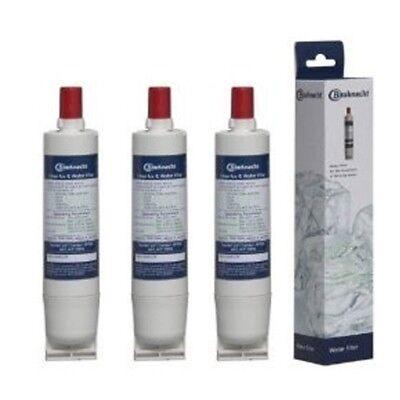 3x 481281719155 SBS003 original Bauknecht Wasserfilter für Bauknecht Kühlschrank