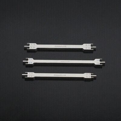 Bracket Locator Bracket Gauge Orthodontic Instruments 2.0mm-5.5mm For Dental