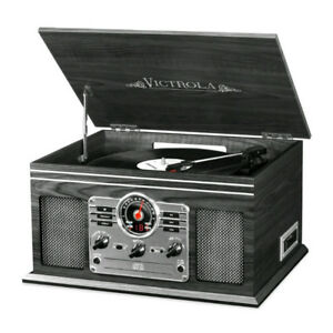 Victrola Nostalgic 6-in-1 Entertainment Center - Brand New