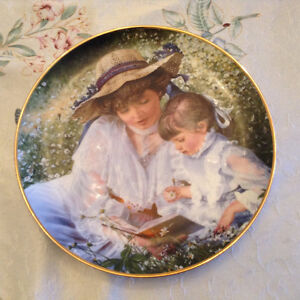 collectible plate