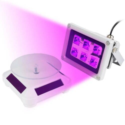 60W UV Resin Solidify Photosensitive Curing Light Turntable