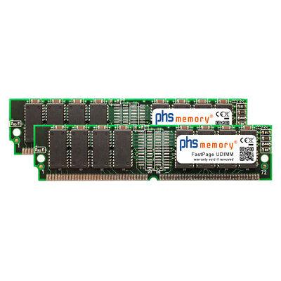 64MB (2x32MB) Kit RAM FastPage passend für Yamaha RS7000 UDIMM Sampler-Speicher segunda mano  Embacar hacia Spain