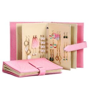 Leather Earrings Organization Book (Brand New)