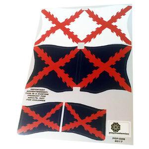 Banderas-navales-espanolas-Spanish-naval-flags-Playmobil-039-s-Custom-Stickers