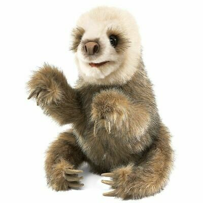BABY SLOTH  Puppet # 2927 ~ FREE SHIPPING/USA ~ Folkmanis Puppets