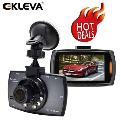 "EKLEVA 2.7"" Vehicle Dash Cam FHD 1080P Car Dashboard DVR Camera Video Record lot"