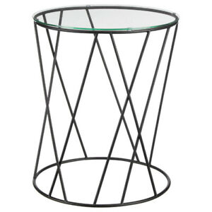 Table D'appoint style industriel NEUF / New End Table