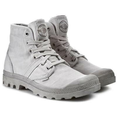 Pre-Owned Palladium Pallabrouse Men's Hiking Boots Vapor/Metal