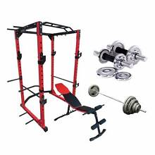 PRO-X6 MONSTER POWER RACK PACKAGE DEAL WITH WEIGHTS BENCH AND BAR Wangara Wanneroo Area Preview