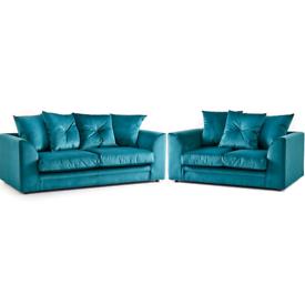 , * New Clymer 3+2 seater sofas