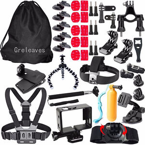 46 in 1 Accessories Kit for Gopro Hero 5 4 3+ 3 2 1 BRAND NEW