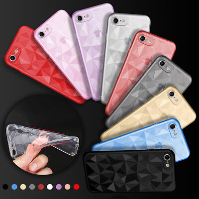 Clear Crystal Soft TPU Silicone Case Gel Cover Skin for Apple iPhone X 7 8 Plus (Clear Soft Silicone Skin)
