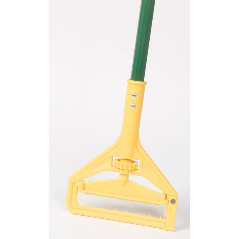 "Nassco Pro Series Quick Change Wet Mop Handle, 60"" Green Fiberglass Handle, 1 Ea"