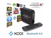 Sumvision AndroidTVBox Cyclone AndroidX4 Bluetooth EditionAMLogic Quad Core worksbetter then appletv