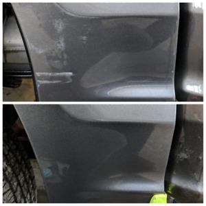 Paint correction polishing