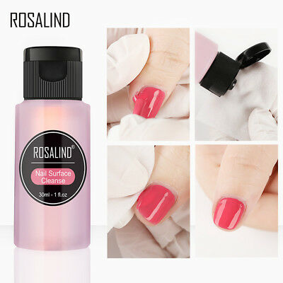 Gel Liquid Cleanser - 30ml Nail Art Tips Acrylic UV Gel Polish Cleanser Plus Remover Cleaner liquid A+