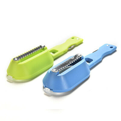 Fish Scales Skin Remover Scaler Knife Fast Cleaner Home Kitchen Clean Tool