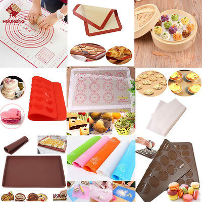 1Pcs Silicone Rolling Dough Pad Pastry Bakeware Liner Non Stick Baking Mat Sheet