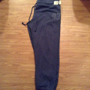 BRAND NEW (TAGS STILL ON) Ladies Dark Grey Sweat Pants SIZE 3X