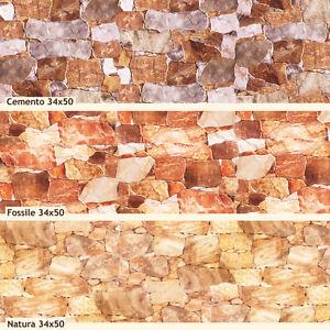 Piastrelle rivestimento parete effetto pietra ricostruita ...