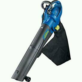Leaf collecto/ blower as new condition wth large bag and shoulder strap. .(electric )