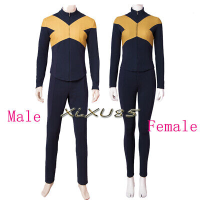 Mystique X Men Costume (Halloween Movie X-Men Dark Phoenix Mystique Cyclops Scott Raven Cosplay)