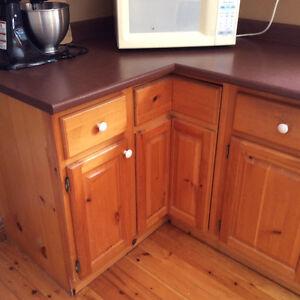 Pine Kitchen Cabinets London Ontario image 2