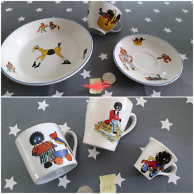 Vintage child cups & tea sets, dolls / toys plates saucers ceramics £5
