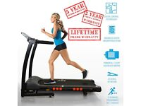 S300 Folding Treadmill Running Machine 5 Year Motor Warranty | Daddy Supplements