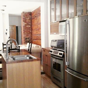 NICE CONDO W BACKYARD IN THE HEART OF PLATEAU / METRO MONT-ROYAL