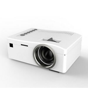 LCD Projector Mini Portable Multimedia Home Theater With USB SD