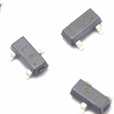 50pcs 2sc1623 L6 0.1a50v Npn Sot-23 Smd Transistor