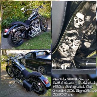 Harley Davidson Fully Custom Deuce Bell Park Geelong City Preview