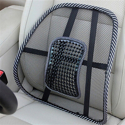 Lumbar Lower Back Car Seat Support Lumber Cushion Pain Relief Office Chair 9UK