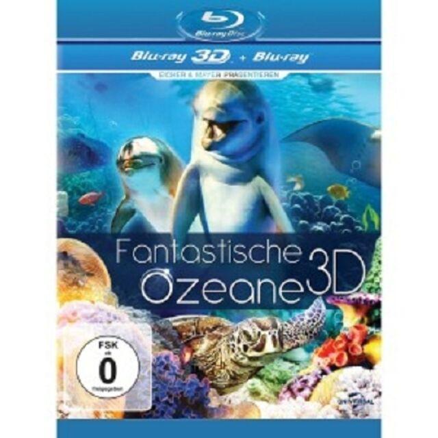 FANTASTISCHE OZEANE 3D  BLU-RAY DOKUMENTATION NATUR&TIERE NEU