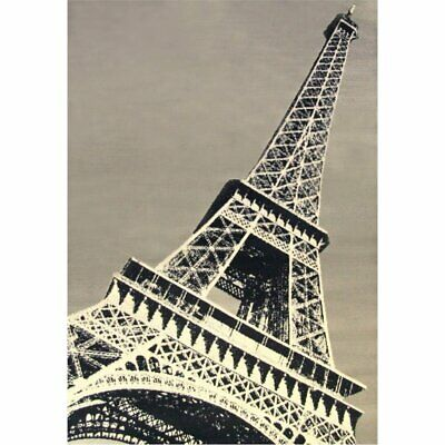Abacasa Terra Paris Black-Grey-Ivory 4x6 Area Rug