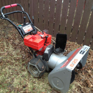 Snowblower 8 hp runs but needs tune up want to sell today $100