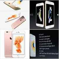 IPHONE 6S/6S PLUS 64/128GB, GOLD/ROSE GOLD BELOW COST NO WAIT***