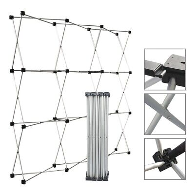 Aluminum Straight Backdrop Booth Frame Trade Show Display Stand 2.3 2.3m
